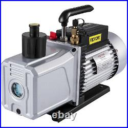 12 CFM Vacuum Pump Double Stage 0.2Pa or 15 microns medical apliances Power 1HP
