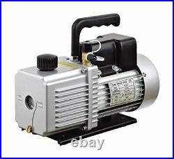 HFS(R) 12 Cfm Vacuum Pump Dual Stage 110V Inlet 1/4 And 3/8 Sae 1 Hp