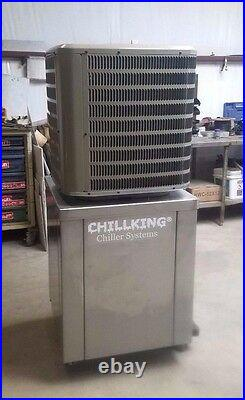 NEW 2020 2 ton hp Glycol Chiller w pump tank brewery winery beer, LOW Temp 28°F