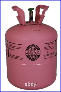 R410a, R-410a R 410a Refrigerant 25lb tank. New Factory Sealed MADE IN USA